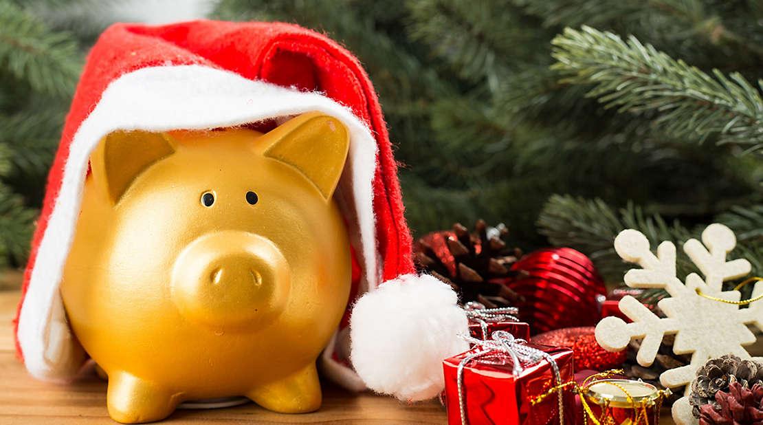 holiday piggy bank