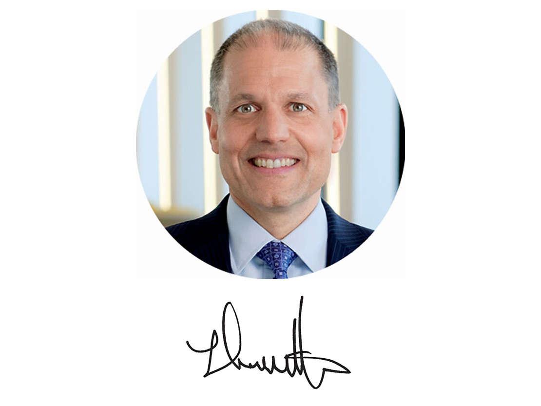 New York Life CEO Ted Mathas.