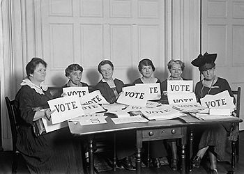 women's suffrage, NY League of women's voters