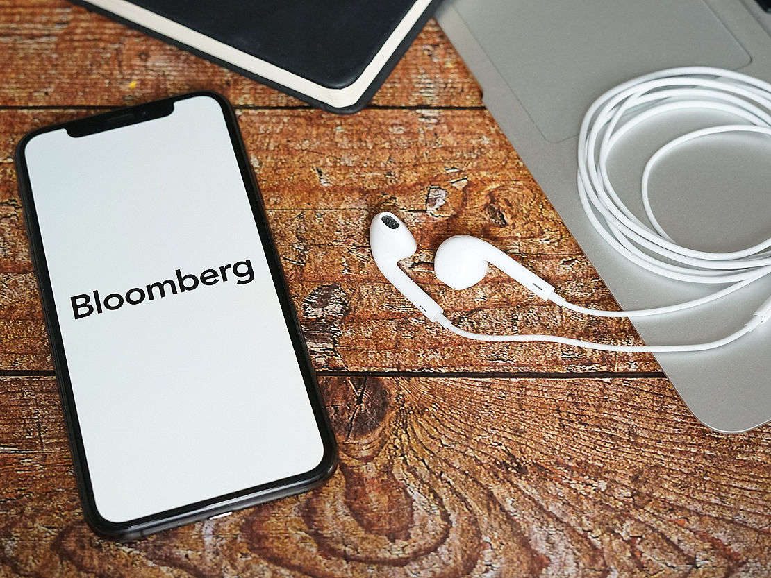 iphone podcast app Bloomberg