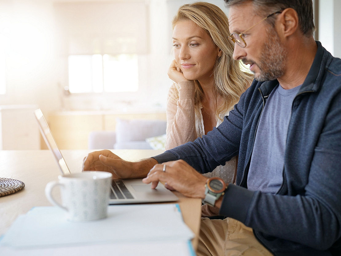 couple making finance choices