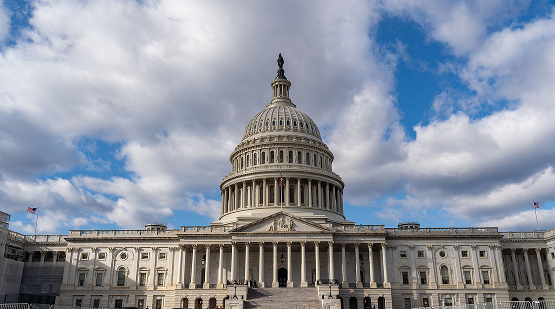 The United States of America Capitol Building.