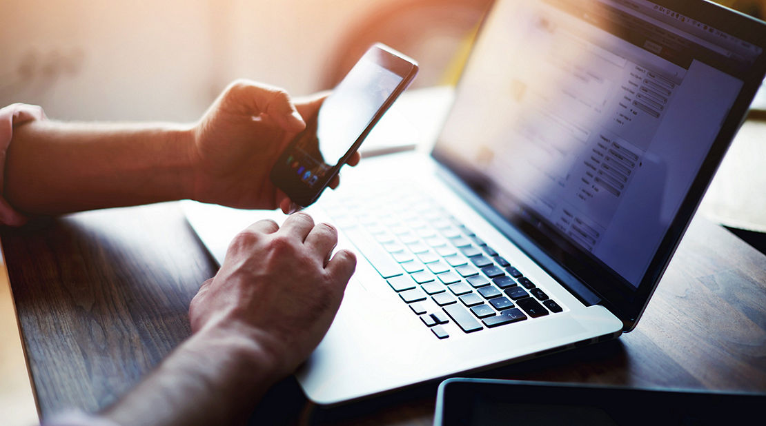 technology, computer, phone