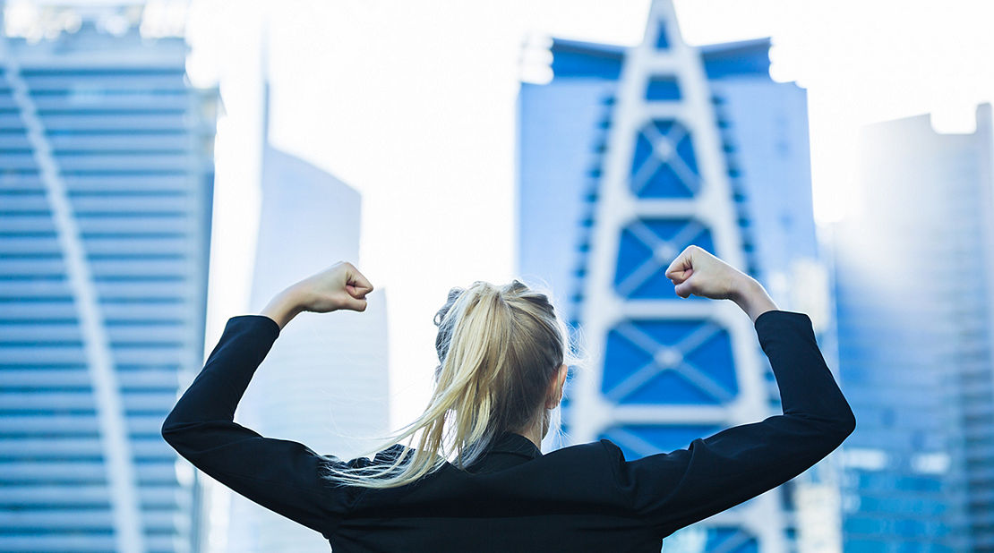 financial fitness woman