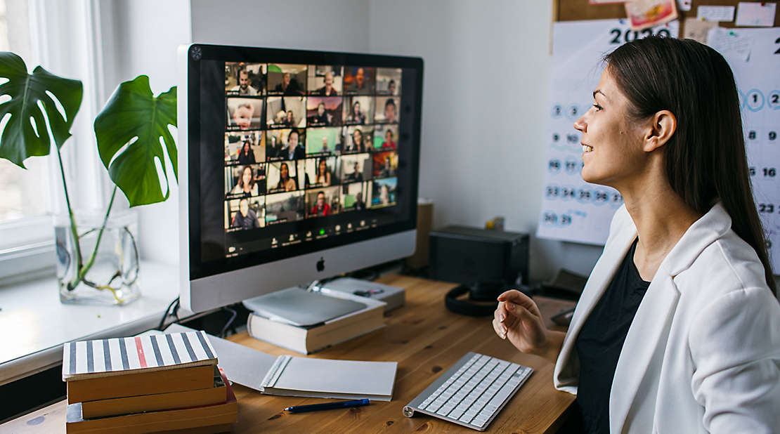 woman on zoom,  innovation