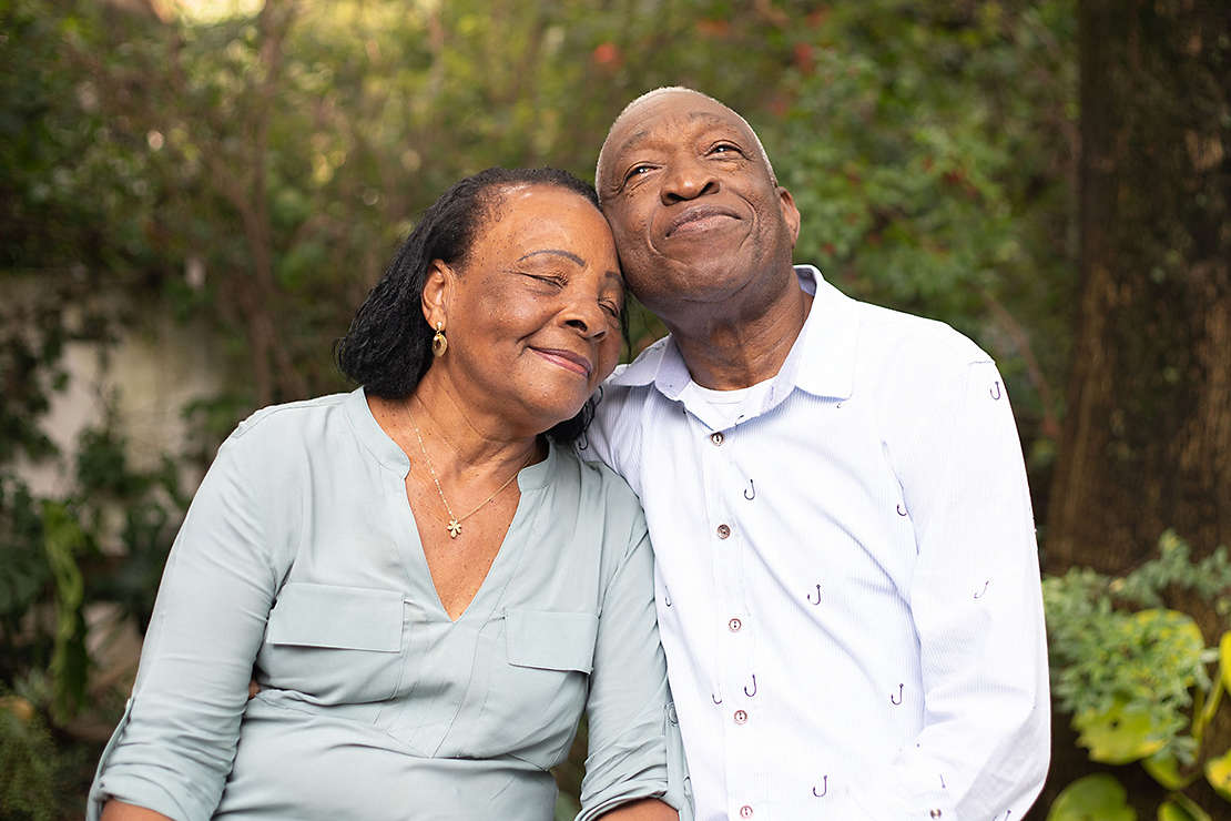 Couple enjoying retirement