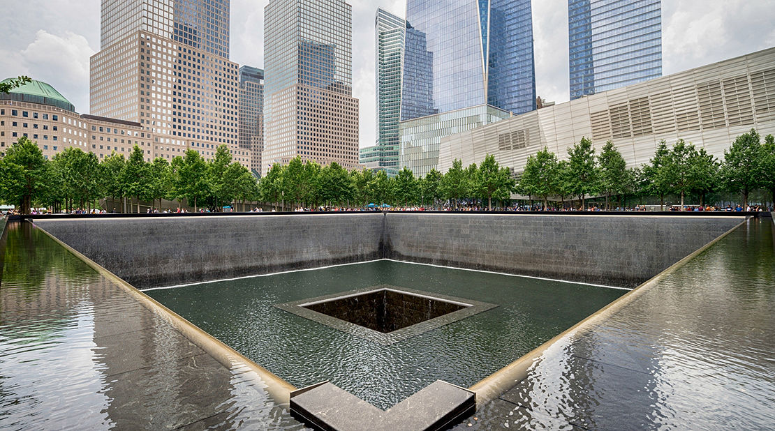 9/11 Memorial Art Cart: Photo by Jin Lee