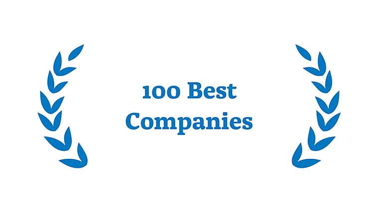 Award for 100 Best Companies for Women