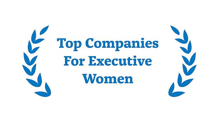 Award for Top Companies for Executive Women
