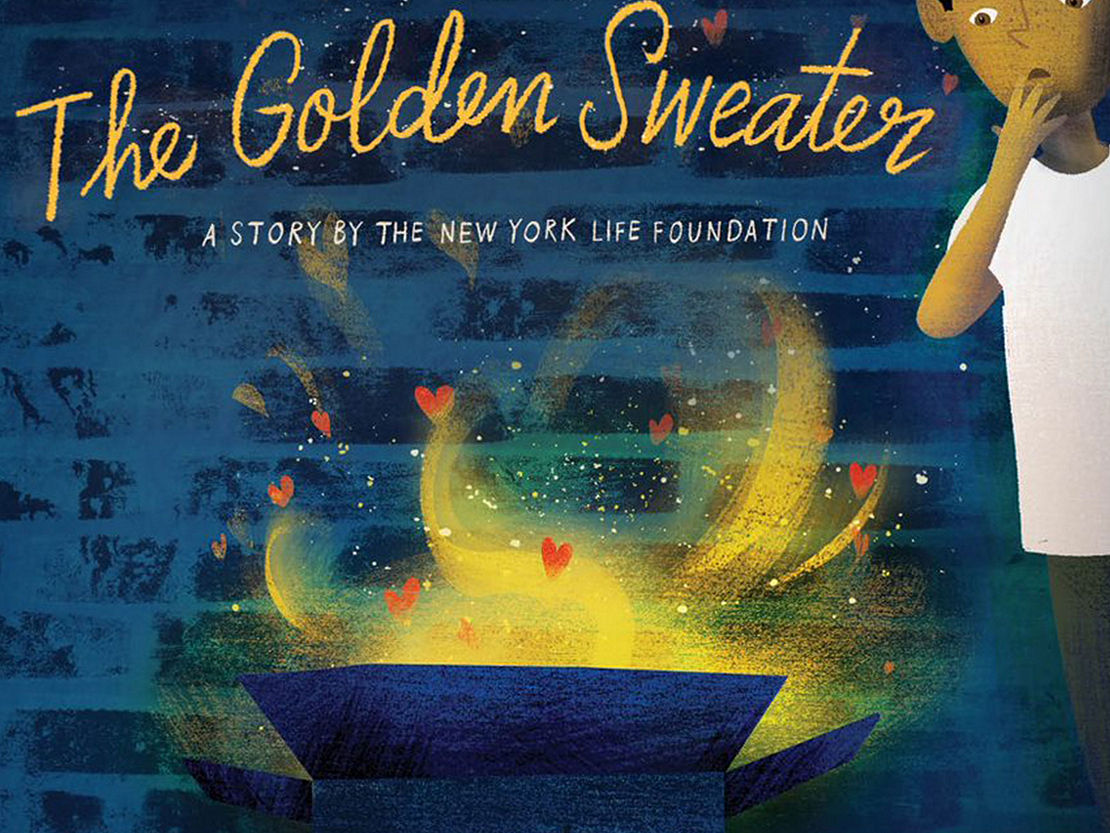 The golden sweater book cover