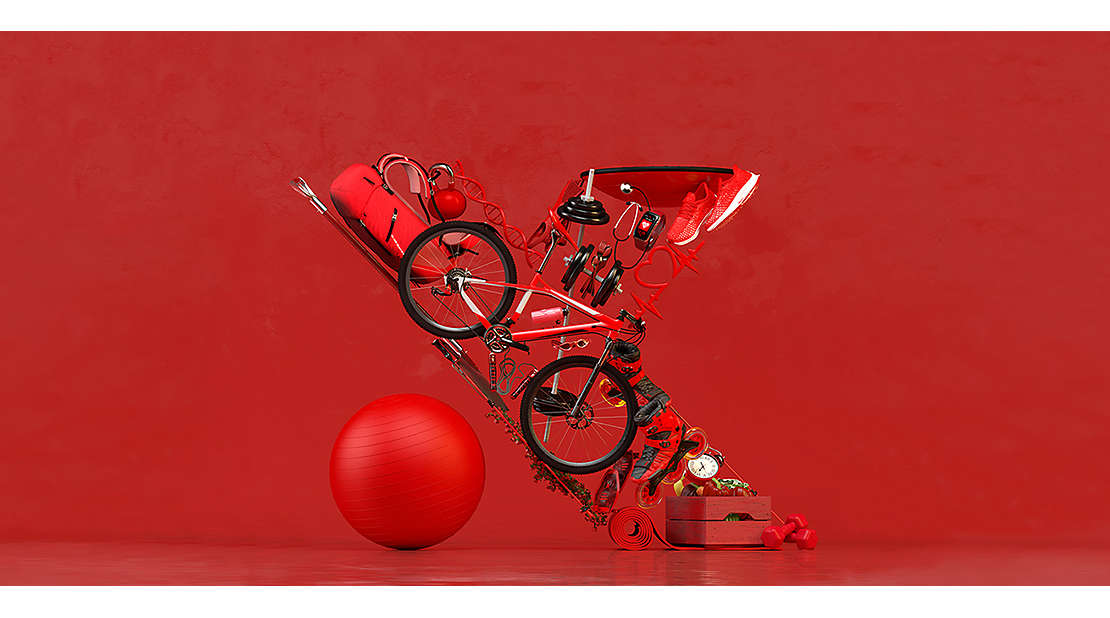 red bikes, sporting. equipment hart etf