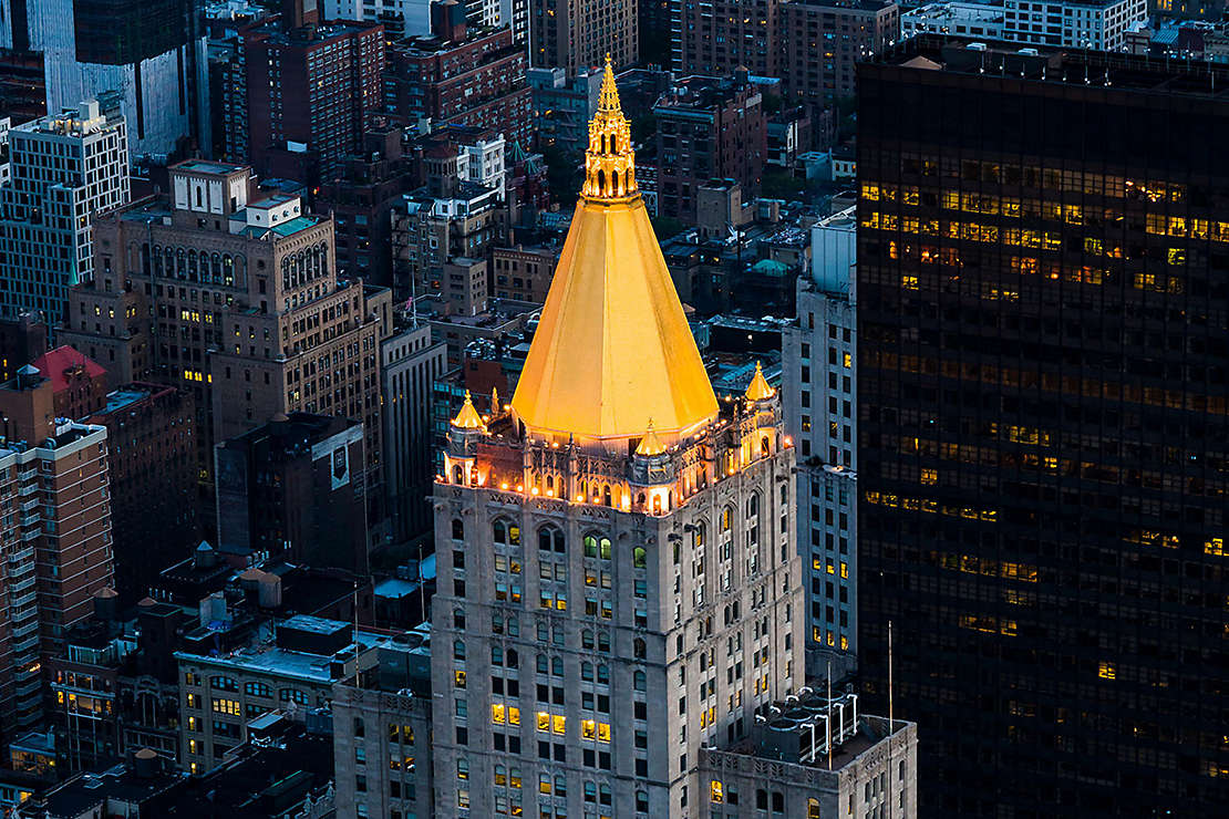 Iconic New York Life Building at 51 Madison Avenue