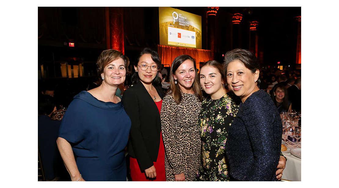 Women in asset management awards.