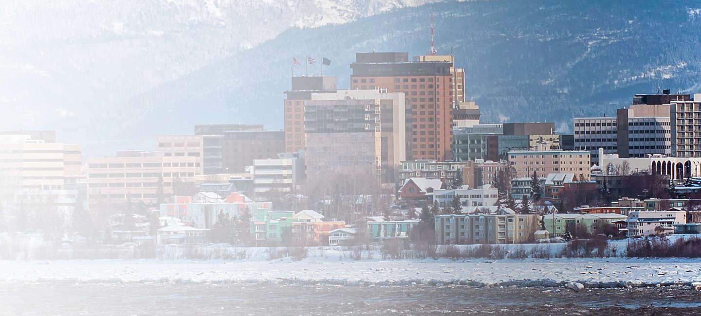 Cityscape of Alaska