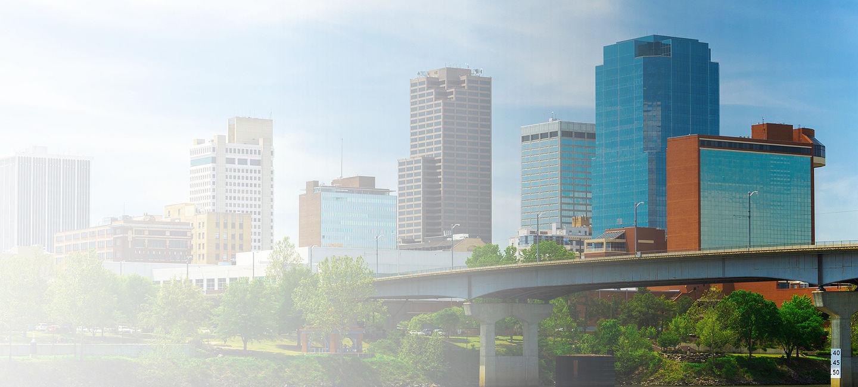 Cityscape of Arkansas