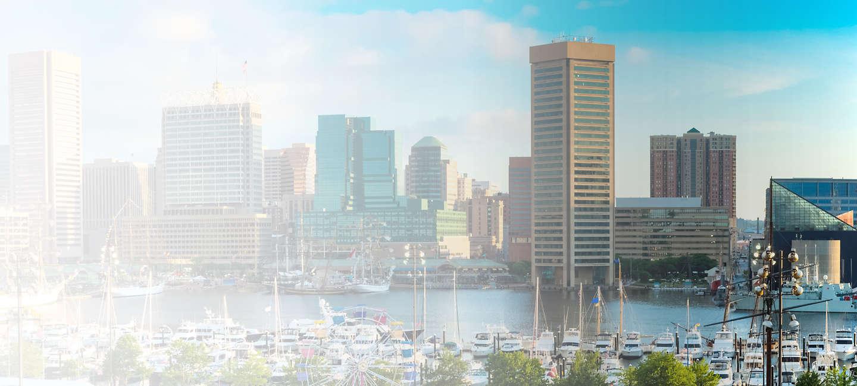 Cityscape of Baltimore