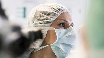 front line medical worker