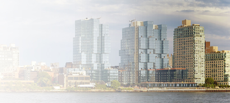 Skyline of greater Brooklyn