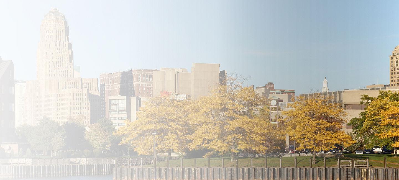 Cityscape of Buffalo-Erie