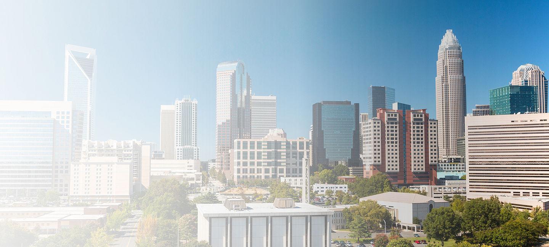 Cityscape of Charlotte