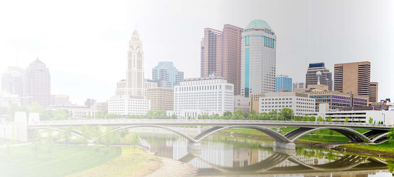 Cityscape of Columbus