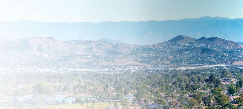 Skyline of Covina Valley