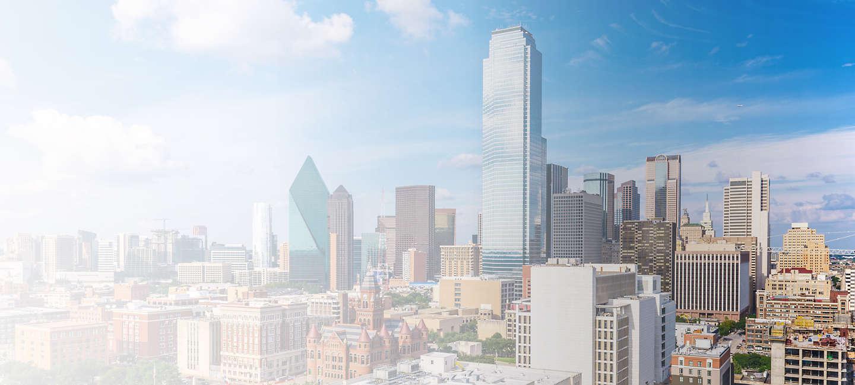 Cityscape of Dallas Fort Worth