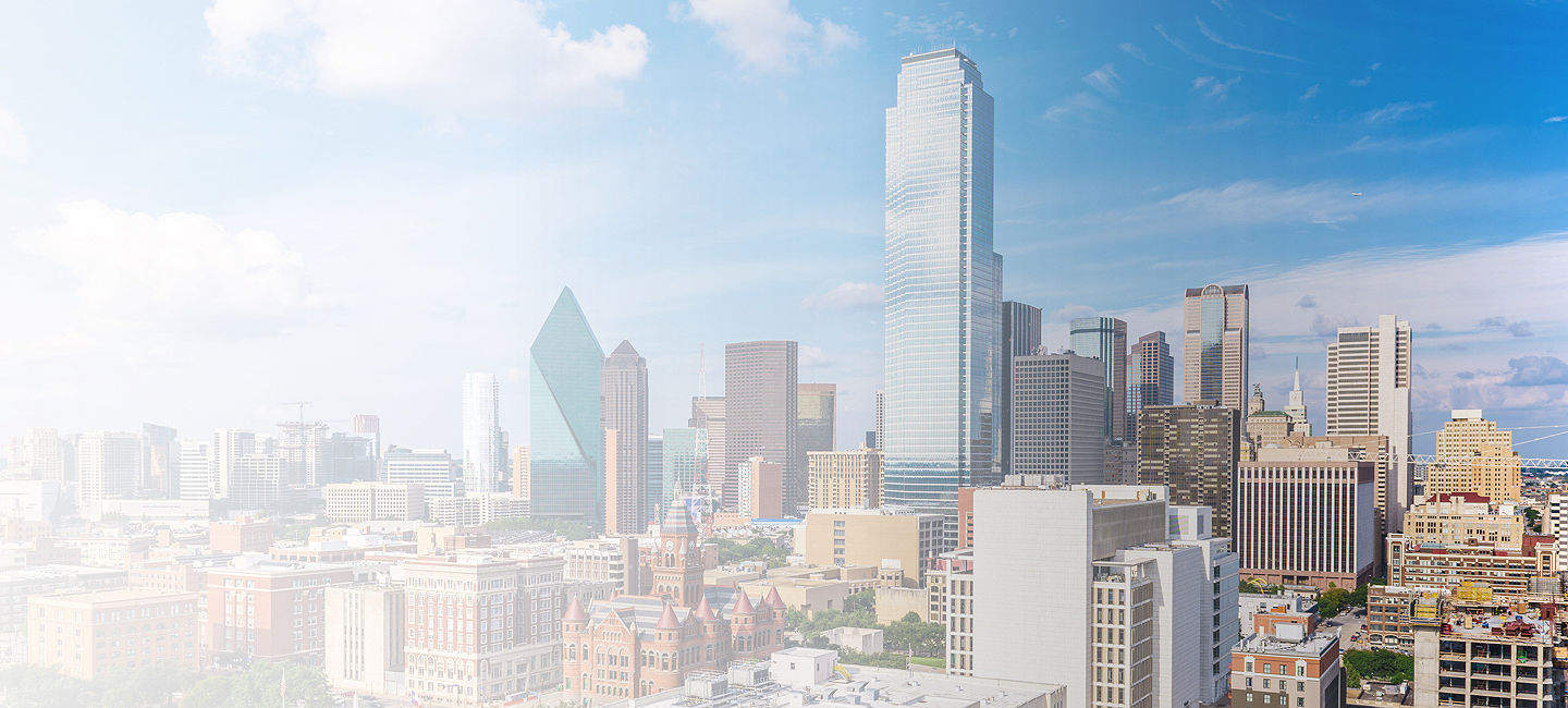 Cityscape of Dallas Fort Worth