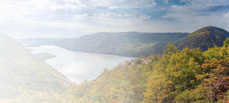 Skyline of greater Finger Lakes