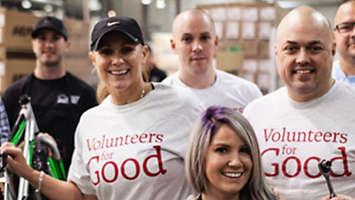 Volunteers for good