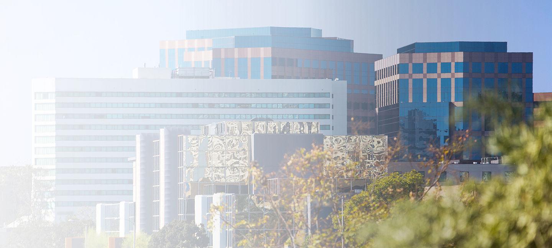 Cityscape of Fullerton