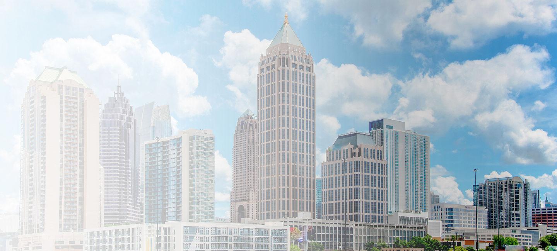 Cityscape of Atlanta