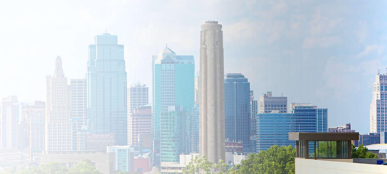 Skyline of greater Greater Kansas City