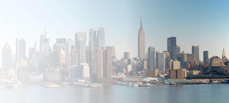 Skyline of greater Greater New York