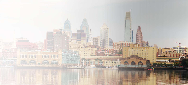 Skyline of greater Greater Philadelphia