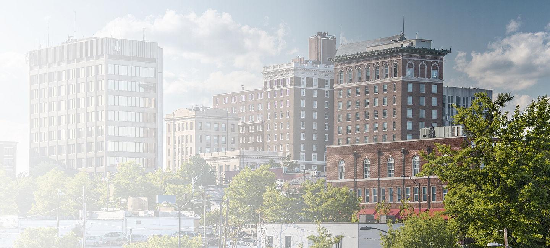 Cityscape of Greenville