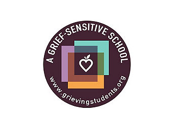 A grief-sensitive school logo