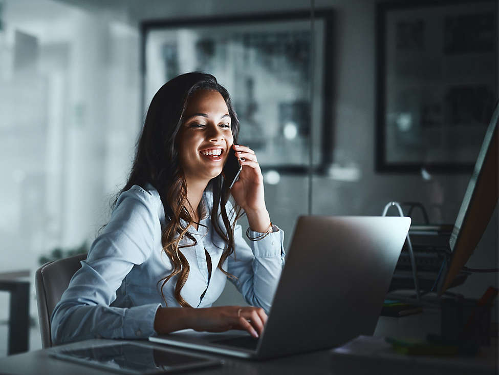 Women on conference call