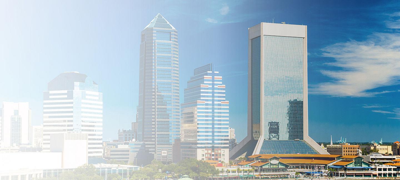 Cityscape of Jacksonville