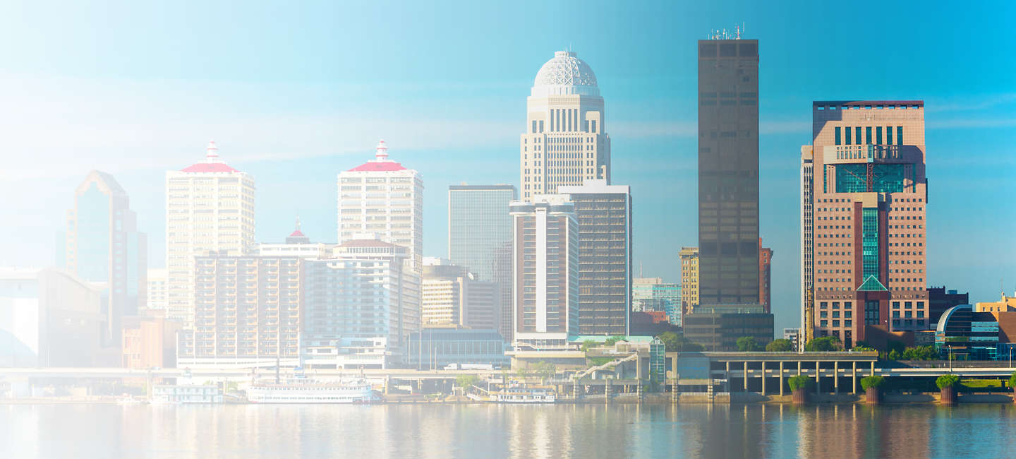 Skyline of greater Kentucky