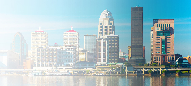 Skyline of greater Kentucky