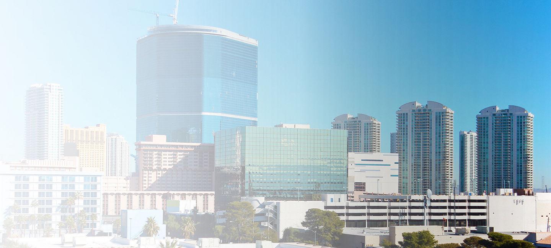 Skyline of greater Las Vegas