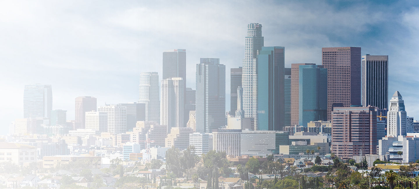 Cityscape of Los Angeles