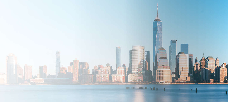 Cityscape of Manhatten, New York City