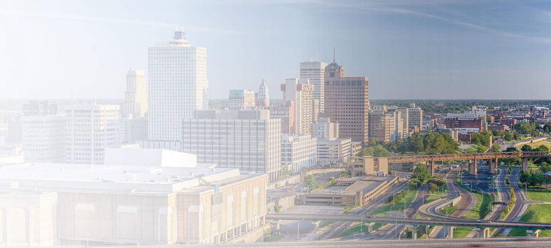 Cityscape of Memphis