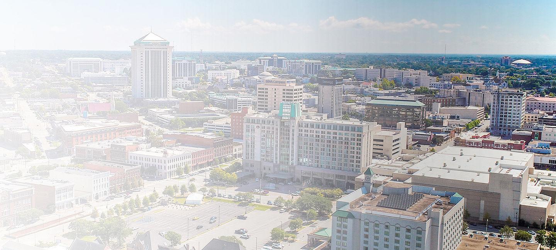 Cityscape of Montgomery