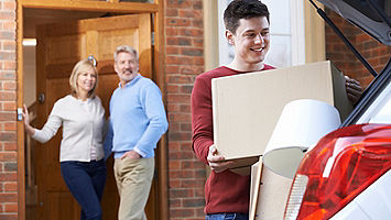 millenial son moving in with parents