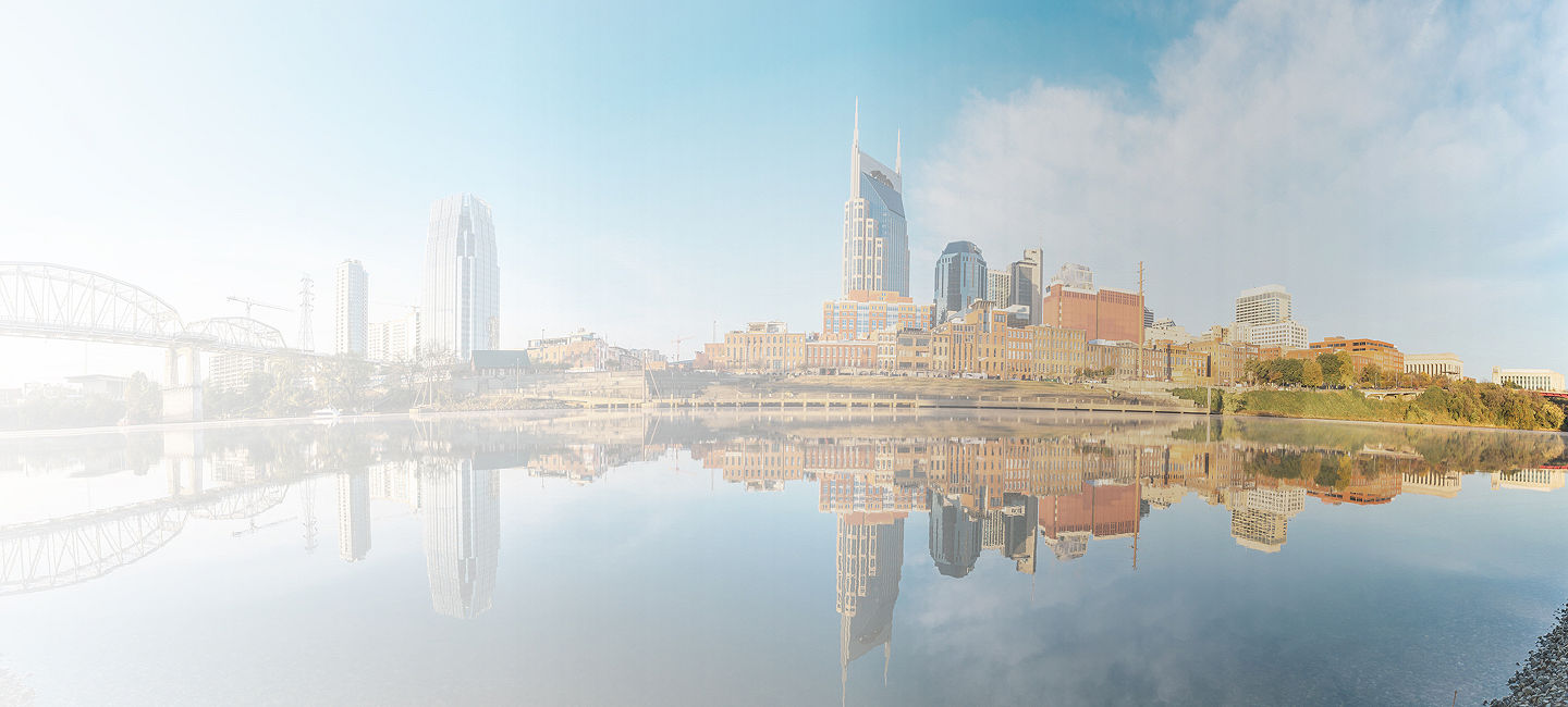 Cityscape of Nashville