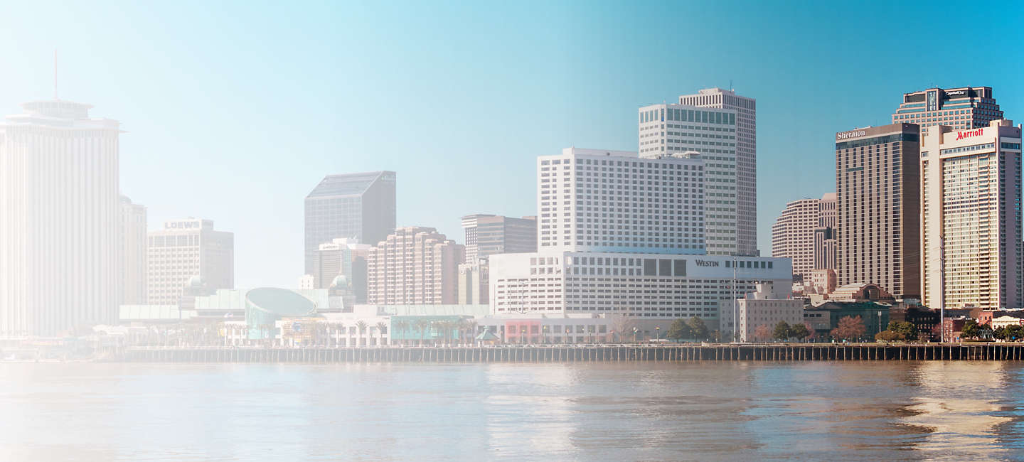 Cityscape of New Orleans