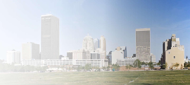 Cityscape of Oklahoma City